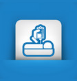 hospital care vector image