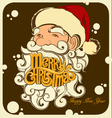 Merry Christmas Santa Claus 2017 vector image vector image
