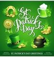 St Patricks Day Set of vector image