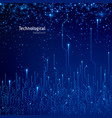 abstract technological background circuit vector image