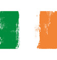 ireland colorful brush strokes painted flag vector image
