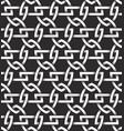 monochrome seamless pattern of shields shaped vector image vector image