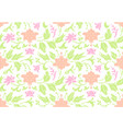 oriental ornament seamless pattern vector image vector image