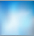 abstract blue blur background eps 10 vector image vector image