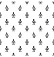 artificial intelligence concept pattern vector image vector image