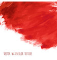 bloody red watercolor texture vector image vector image