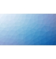 blue abstract background consisting of low vector image vector image