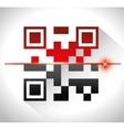 digital code design vector image vector image