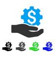 Engineering service flat icon vector image