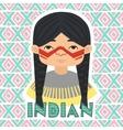 Indians Man vector image