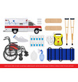 medical equipment image vector image vector image