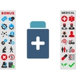 Medication Bottle Icon vector image