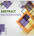 abstract minimal geometric pattern design vector image vector image