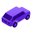 diesel car icon isometric style vector image vector image