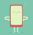Happy Smartphone Smiling vector image vector image