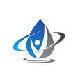 hydro health care vector image vector image