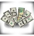 Money Fan vector image vector image