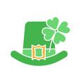 saint patricks day glyph color icon vector image