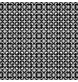 seamless pattern of crosses of corners and squares vector image