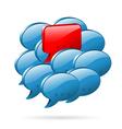 Special Opinion - Social Media Concept vector image vector image