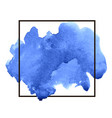 abstract watercolor splash drop stain brush vector image vector image