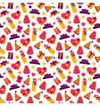 birthday party background birthday pattern vector image