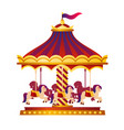 colorful and bright circus vector image