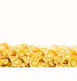 golden shiny coins big bunch old metal money vector image vector image