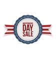 Independence Day Sale realistic Banner vector image vector image