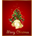 merry christmas elegant background vector image vector image