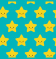 seamless pattern with falling cute vector image