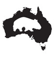 wombat silhouette vector image