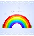 rainbow beautiful vector image