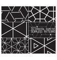 Set patterns vector image