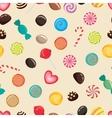 candies texture lollipop vector image