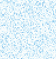 Circles technology pattern background vector image