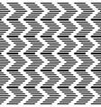 Striped zigzag texture vector image