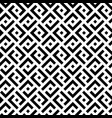 black and white squares modern seamless pattern vector image vector image