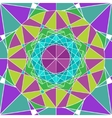 Geometry Mandala background vector image vector image