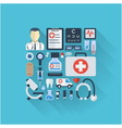 Abstract medicine background vector image