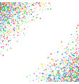 abstract pattern confetti vector image vector image