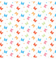 butterfly background seamless summer background vector image vector image
