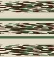 camouflage pattern background seamless classic vector image vector image