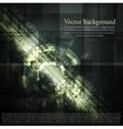 Dark abstract hi-tech background vector image vector image