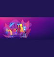 fashion house concept banner header vector image vector image