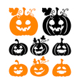 Halloween Pumkins vector image