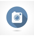 Instagram camera icon vector image vector image