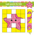 logic puzzle for kids education developing