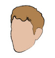 profile man male avatar face vector image vector image