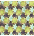 Succulent green and purple seamless pattern vector image vector image
